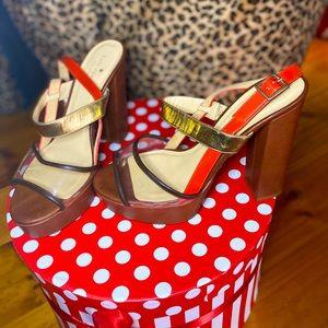 Kate Spade platform heels. UK 9.